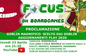 Focus on boardgames Magnifico 2020