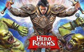 Immagine promozionale del deckbuilding Hero Realms della White Wizard Games