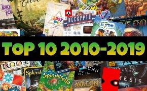 Top-10 giochi da tavolo: decade 2010-2019