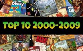 Top-10: i migliori giochi da tavolo - decade 2000-2009