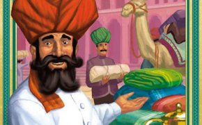 La copertina di Jaipur, gioco per due giocatori