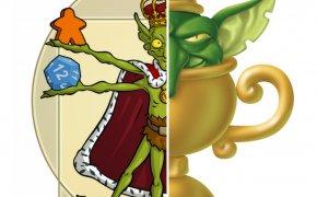 goblin magnifico e scelto dai goblin logo comune