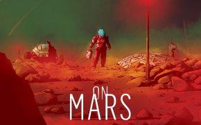 On Mars: copertina