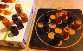 Materiali del gioco da tavolo Quarto!