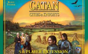 Cities & Knights of Catan: 5-6 Player Expansion
