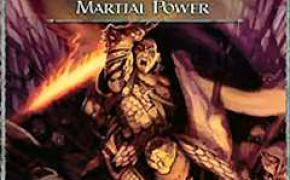 Dungeons & Dragons 4a Edizione: Martial Power