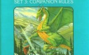 Dungeons & Dragons Set 3: Companion Rules