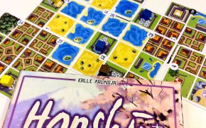 Honshu: scatola e componenti