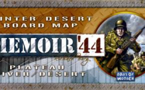 Memoir '44: Winter / Desert Board Map