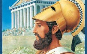 Copertina di uno dei giochi da tavolo di Martin Wallace: Perikles