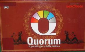Quorum: il grande gioco della politica
