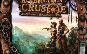 Copertina di Robinson Crusoe: viaggio verso l'isola maledetta