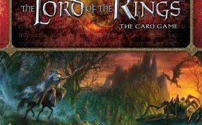 Copertina del gioco di carte de Il Signore degli Anelli