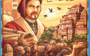 Copertina del gioco da tavolo Sulle Tracce di Marco Polo