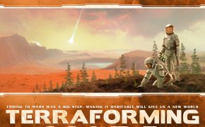 La copertina di Terraforming Mars