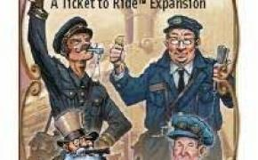 Ticket to Ride: Mystery Train Expansion