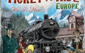 Ticket to Ride: Europe, gioco da tavolo della Days of Wonder