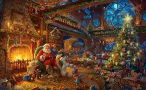 Il laboratorio di Babbo Natale
