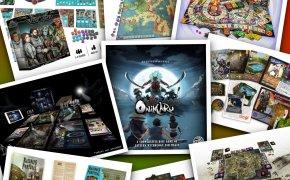 Kalcio d'inizio! I Kickstarter sui giochi da tavolo di inizio 2019