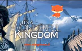 It's a Wonderful Kingdom: sarà in Italia con Studio Supernova