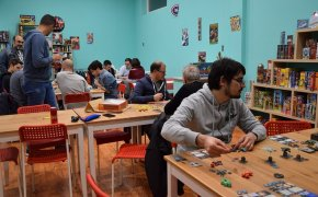 Mostra e Dimostra, prima serata dimostrativa sui giochi da tavolo al Dal Tenda Roma Appia