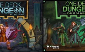 One Deck Dungeon: copertine