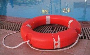 salvagente a bordo piscina