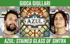 Gioca Giullari Azul Stained Glass of Sintra