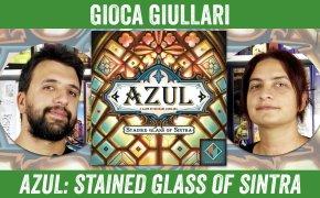Gioca Giullari Azul Stained Glass of Sintra