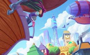 Skyward: copertina