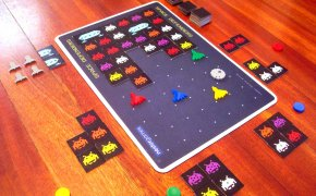 Space Defenders: partita