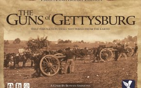 Copertina del gioco The Guns of Gettysburg, di Bowen Simmons