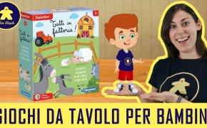 Tutti in Fattoria – Gioco da Tavolo per Bambini – Clementoni – 4+ anni