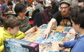 Underwater cities: tavoli di Play