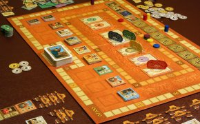 Partita in corso per In the Year of the Dragon, gioco di Stefan Feld