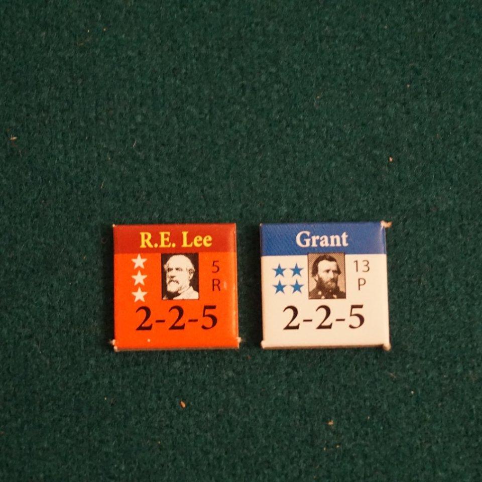 U.S. Civil War - Lee and Grant