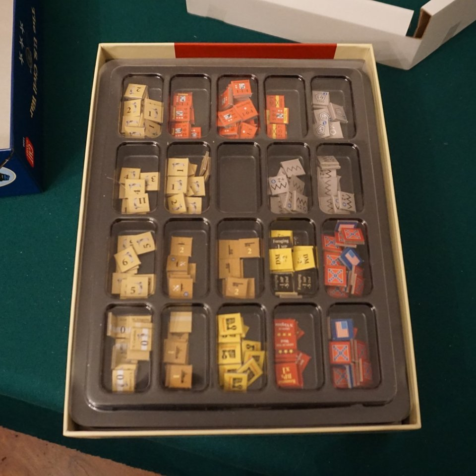 U.S. Civil War - Tutto nella scatola