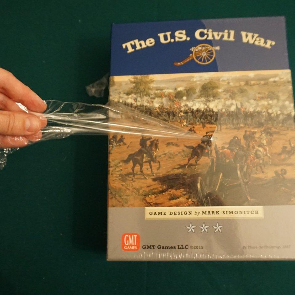 U.S. Civil War - Scatola