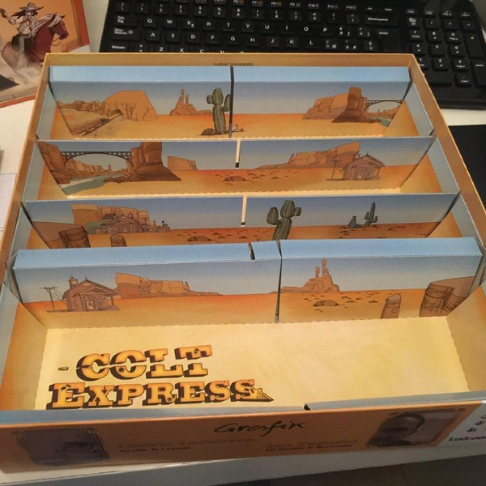Colt Express: interno scatola