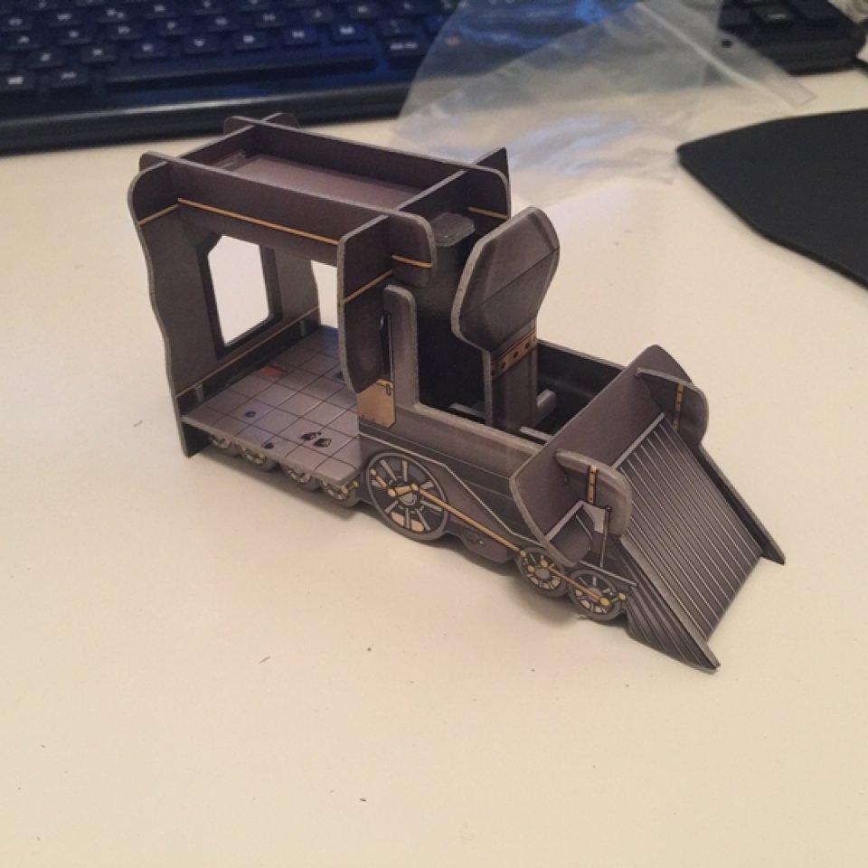Colt Express: locomotiva montata