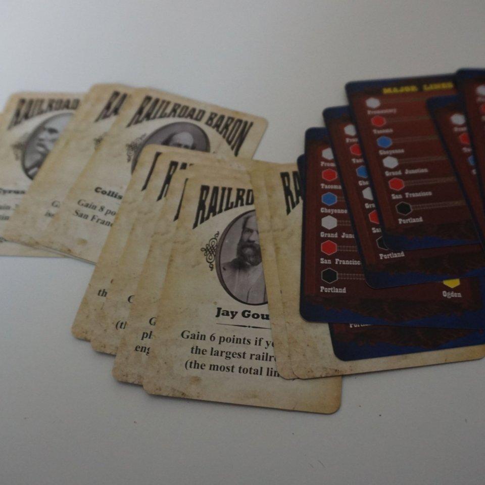 Baron Cards e Major Lines