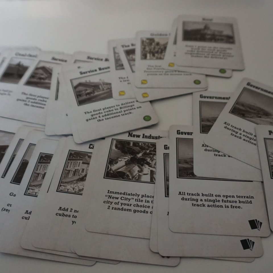 Operation cards