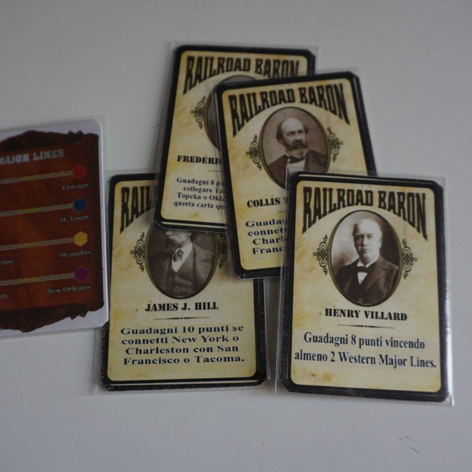 Baron Cards per la partita transcontinentale