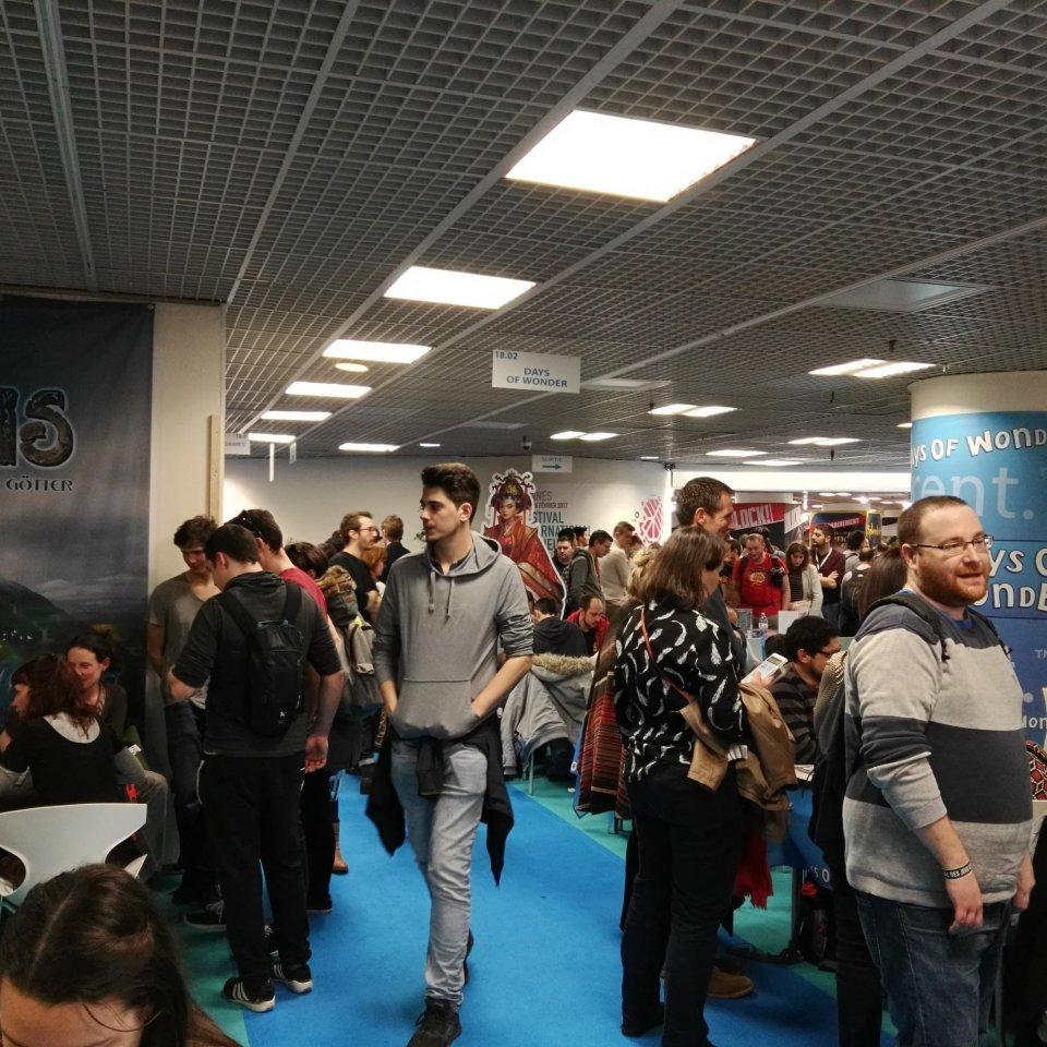 Festival International des Jeux Cannes - stand videogame