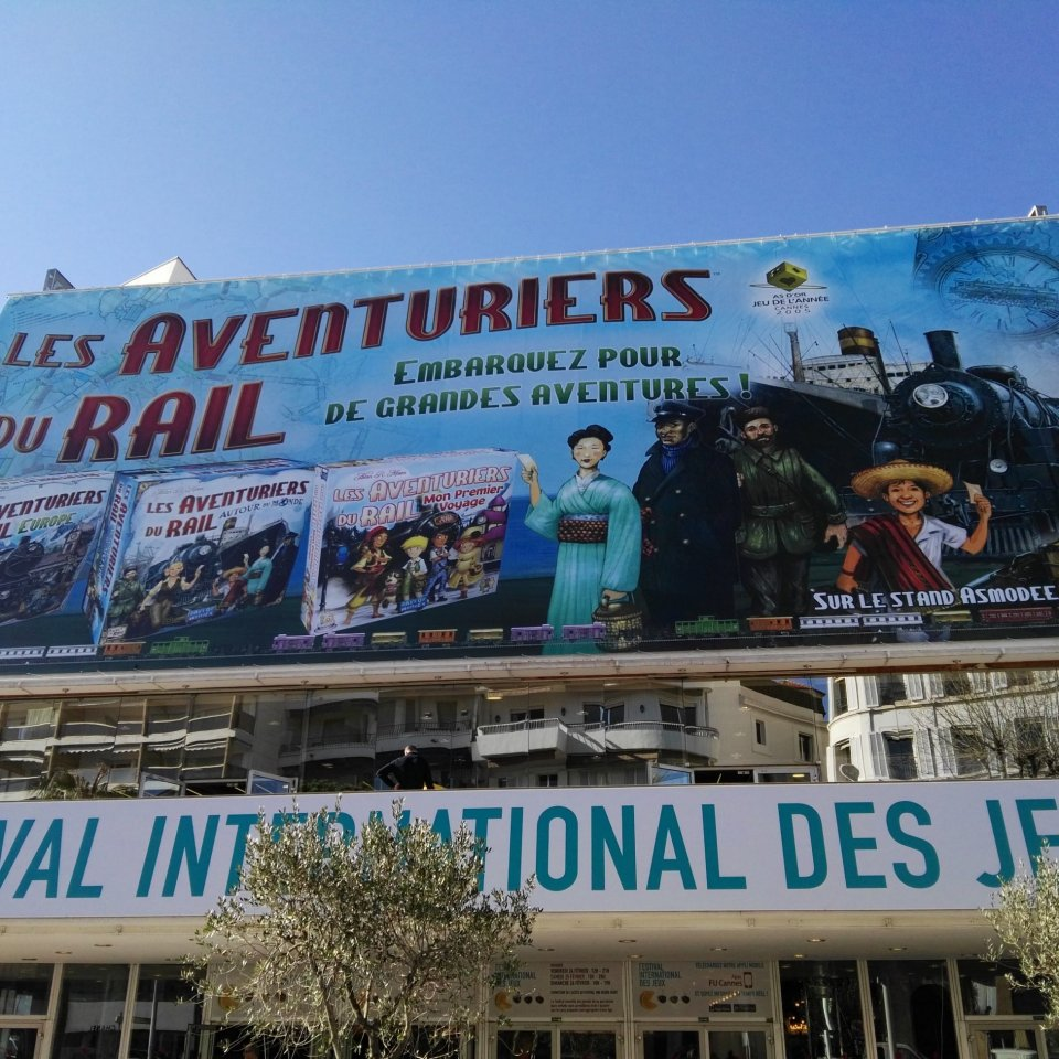 Festival International des Jeux Cannes - Esterno