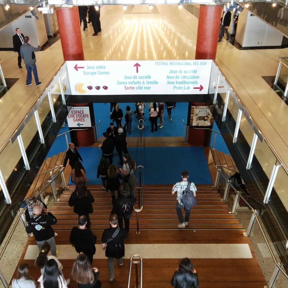 Festival International des Jeux Cannes - ingresso