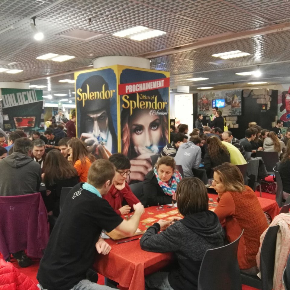 Festival International des Jeux Cannes - Stand Space Cowboys