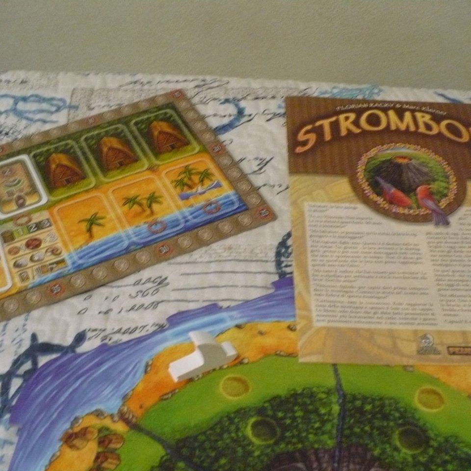 Stromboli: fine partita e regolamento