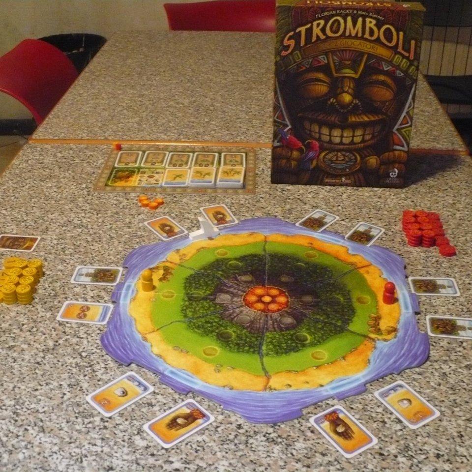 Stromboli: preparazione del gioco
