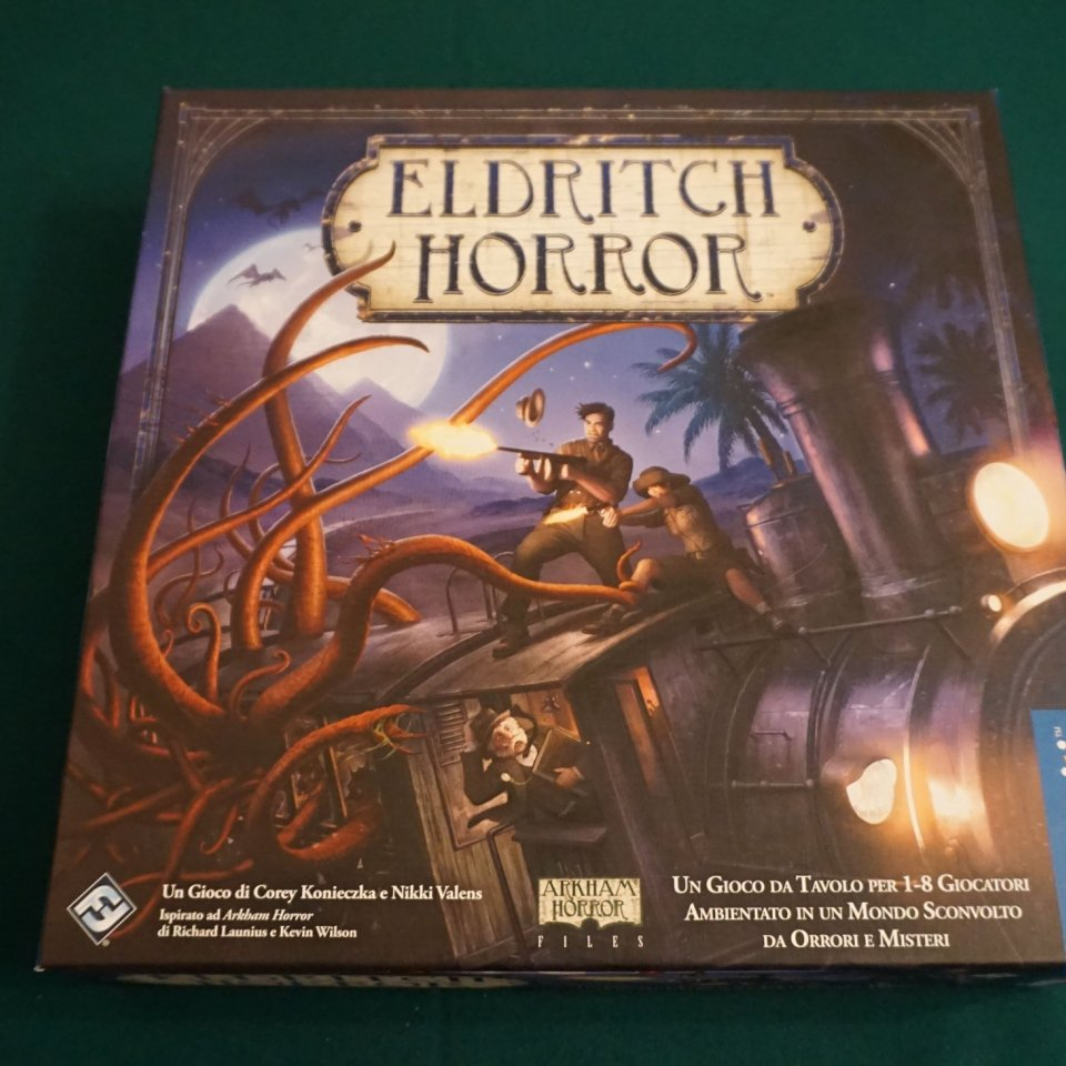 Eldritch Horror scatola